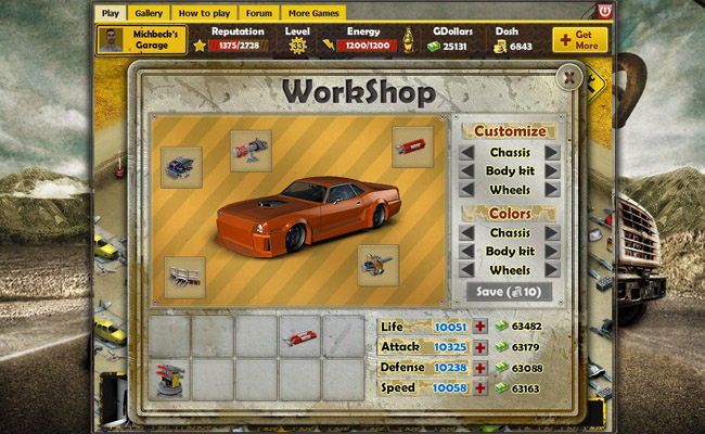 Online car games crazy games